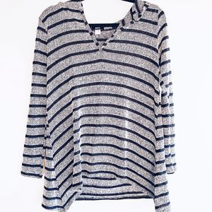 Urban Outfitters BDG Striped Hooded Sweater
